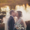 Elegant DIY Wedding in an Autumn Garden