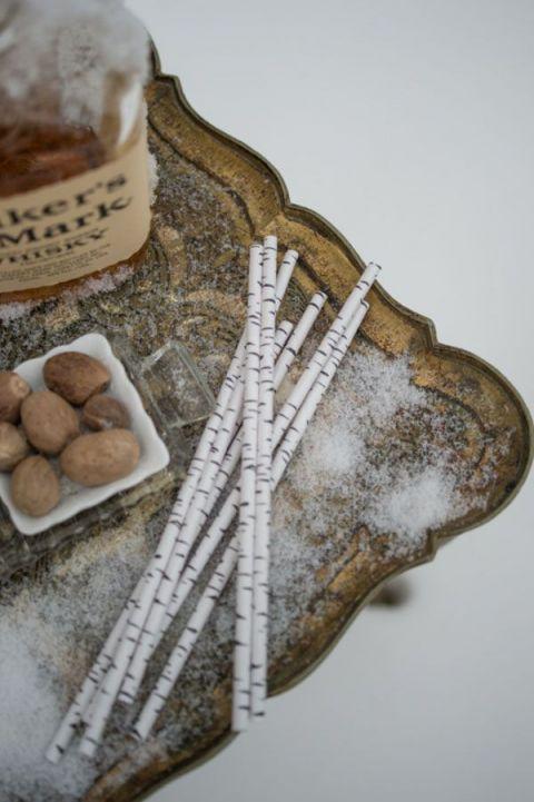 Bourbon and Vanilla Milk Punch | Carla Ten Eyck Photography | Specialty Cocktails and Wedding Bar Ideas