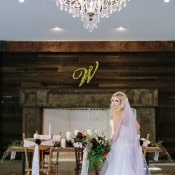 A Woodsy Glam Wedding Reception | Ashley Cook Photography | Jewel Toned Autumn Woodland Wedding Shoot
