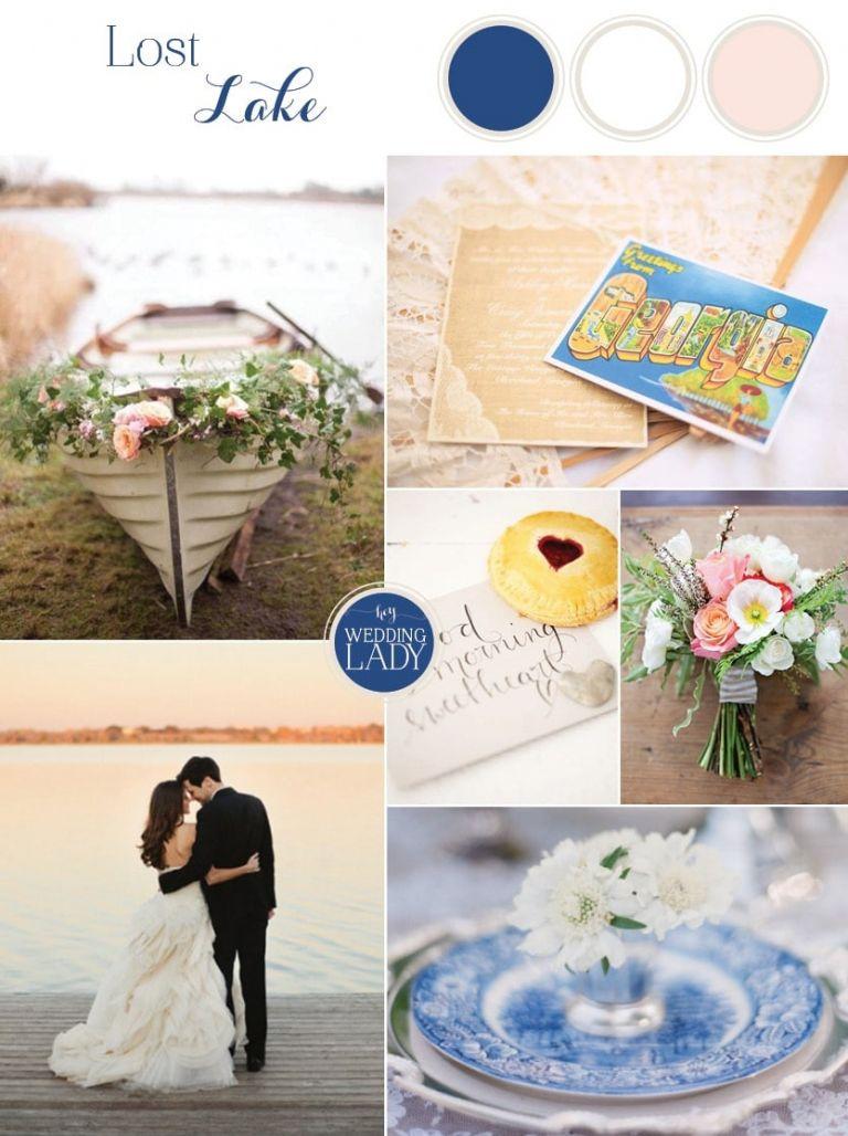 Lost Lake - Blue and Blush Lakeside Wedding