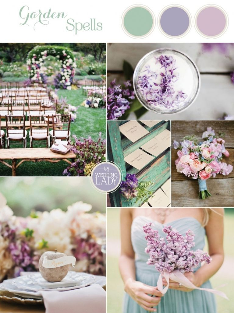 Garden Spells - Enchanting Lilac and Soft Green Southern Garden Wedding