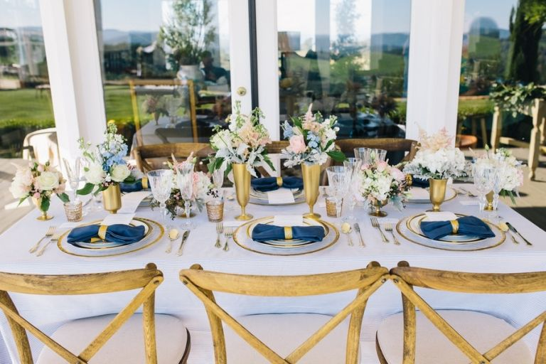 Blue gold wedding theme image collections wedding decoration ideas blue gold wedding theme images wedding decoration ideas junglespirit Choice Image