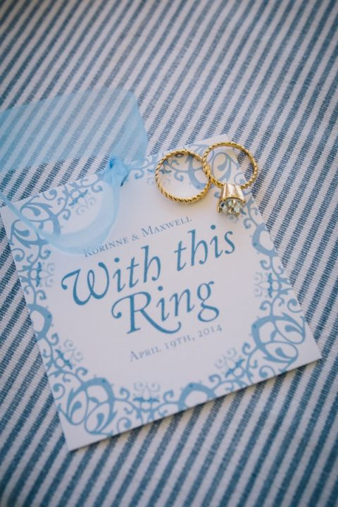 With This Engagement Ring | Lisa Mallory Photography | Preppy Southern Charm Wedding in Blue, Blush, and Gold