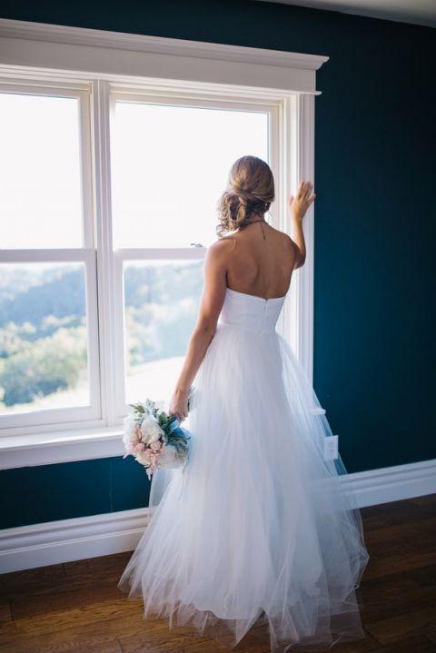 Blush Tulle Wedding Dress 90 Luxury Romantic Tulle Wedding Dress