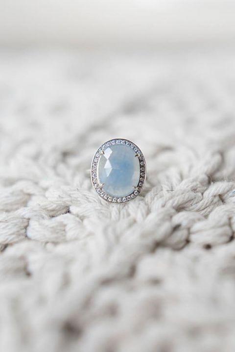Mountain Wedding Ring 95 Beautiful Blue Gemstone Engagement Ring