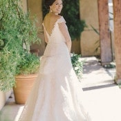 Elegant Romona Keveza Wedding Dress
