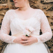 Long Sleeve Lace Wedding Dress | soundslikeyellowphotography