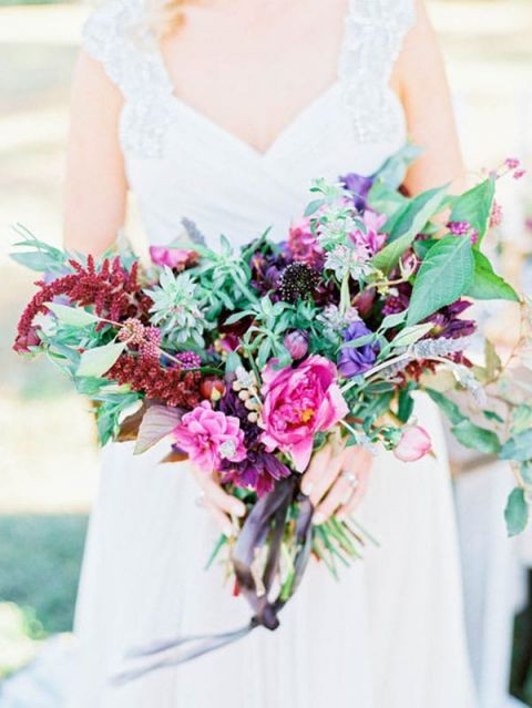Rich Purple Summer Bouquet | Ashley Slater Photography and Michaela Noelle Designs | Celebrating Creativity at the Bloom Workshop!