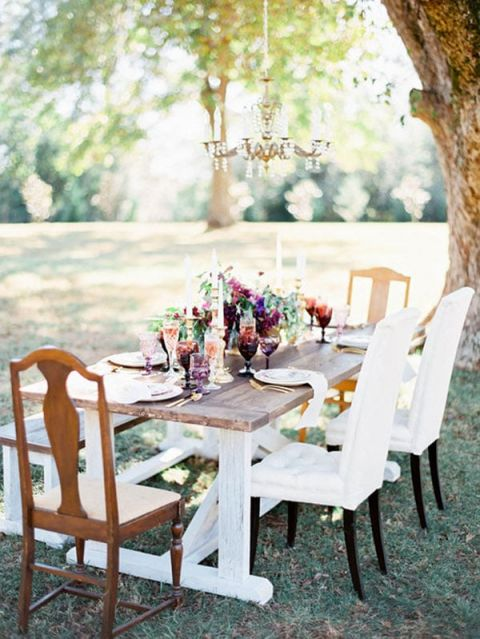 Elegant Outdoor Styled Table | Ashley Slater Photography and Michaela Noelle Designs | Celebrating Creativity at the Bloom Workshop!