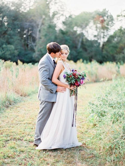 Romantic Summer Wedding Portraits | Ashley Slater Photography and Michaela Noelle Designs | Celebrating Creativity at the Bloom Workshop!