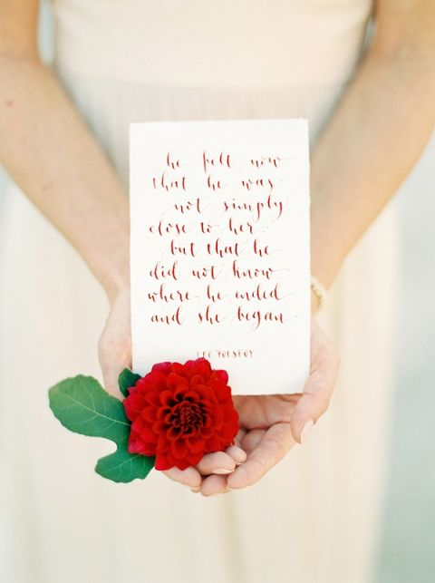 Calligraphy Vows | Melanie Nedelko Fine Art Film Photography | Crimson and Gold Fall Foliage Wedding