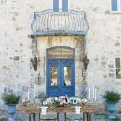 Mediterranean Inspired Villa Wedding | Charla Storey Photography and Grit + Gold | Regal Hacienda Wedding Shoot in Rich Jewel Tones