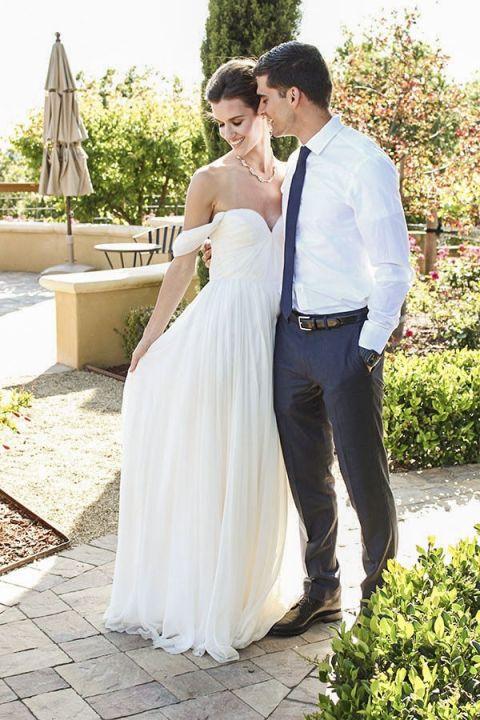 Dreamy Sarah Seven Wedding Dress | Sweet Summer Citrus from the Bloom Workshop!