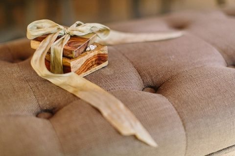 Handmade Wooden Ring Box | Danielle Poff Photography | Rustic Sophistication Wedding Shoot in Wine Country