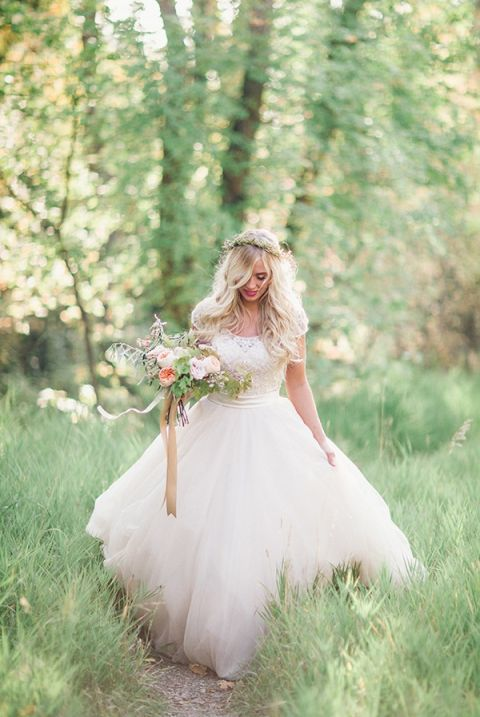 Enchanted Forest Bridal Portraits