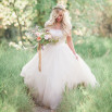 Blush and Rose Gold Woodland Wedding Shoot