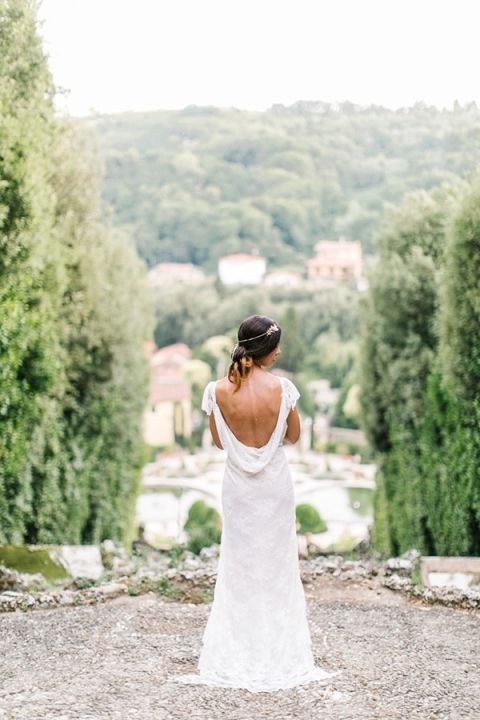 D Backless Wedding Dress Maria Lamb Photography Gracious Villa In The Heart Of