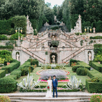 Classical Garden at an Italian Palace | Maria Lamb Photography | Gracious Villa Wedding in the Heart of Tuscany
