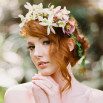 Anne of Green Gables Wedding Inspiration in Blush and Spring Green