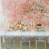 Modern Monet Wedding Shoot | Jessica Peterson Photography | Wedding Styling Spotlight on Michelle Leo Events