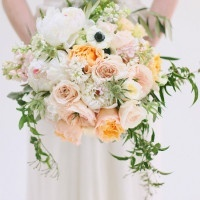 Lush Pastel Spring Bouquet | Jessica Peterson Photography | Wedding Styling Spotlight on Michelle Leo Events