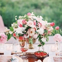 Rich Blush and Pink Wedding Decor | Emily Jane Photography | Summer Berry Boho Wedding Shoot