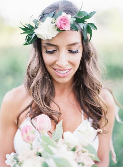 Romantic Natural Bohemian Bride
