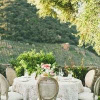 Glamorous Countryside Wedding | onelove photography | Stylish Rockstar Wedding at a Southern California Vineyard in Ivory, Coral, and Gold