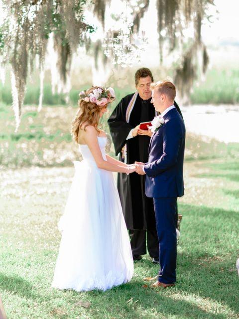 Peony Wedding Dress 86 Marvelous Romantic Outdoor Wedding Ceremony