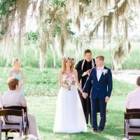 Sweet and Simple Ceremony | Pasha Belman Photography | Intimate Peony Pink Wedding in the South