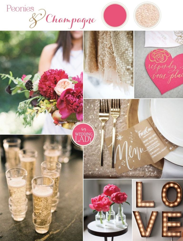 11 fresh summer wedding palettes hey wedding lady for Summer wedding color combinations