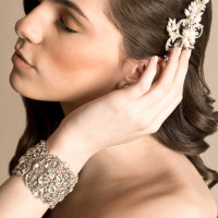 Jeweled Cuff Bracelet | Elizabeth Nord Photography
