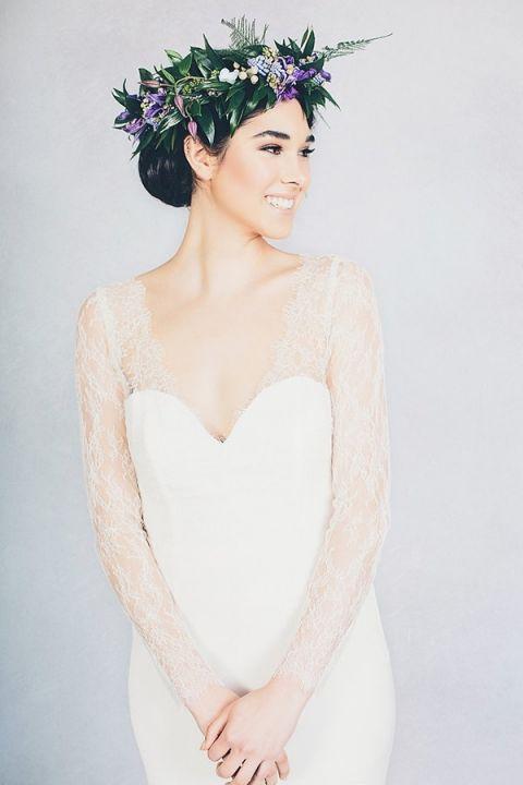 Farrah Wedding Dress 47 Cute Mabel Long Sleeve Lace