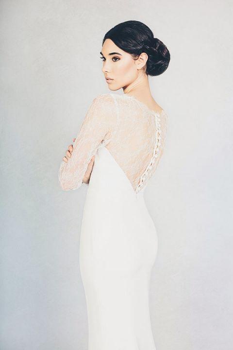 Farrah Wedding Dress 99 Cool Mabel Long Sleeve Lace