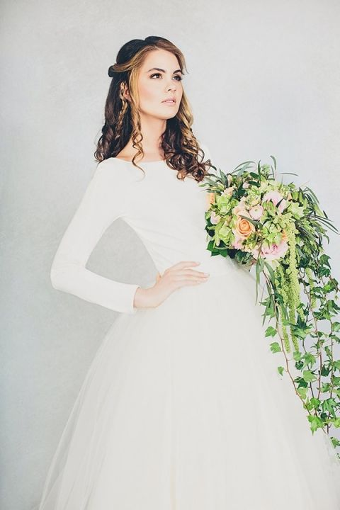 Farrah Wedding Dress 34 Spectacular Rosemary Long Sleeve Wedding