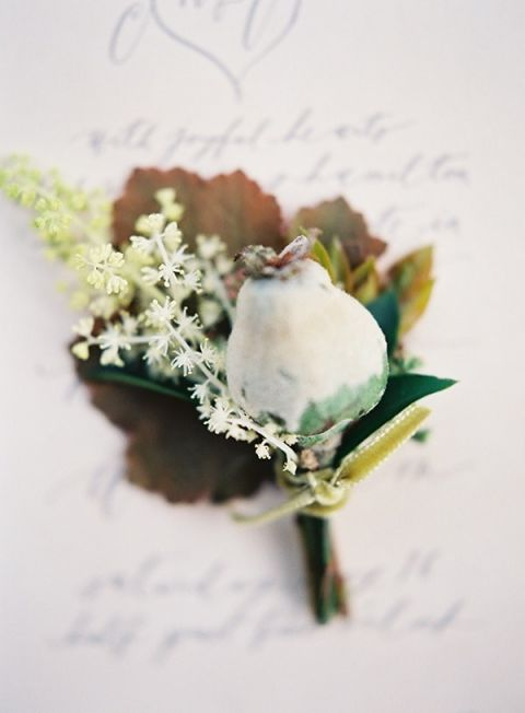 Natural and Organic Boutonniere
