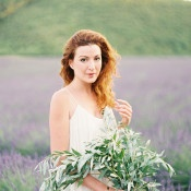 Bouquet of Olive Branches | Kristen Kilpatrick Photography | Love Amongst the Lavender Fields of Provence