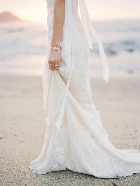 Tropical Dresses For Weddings 42 Cute Graceful Beaded Lace Gown