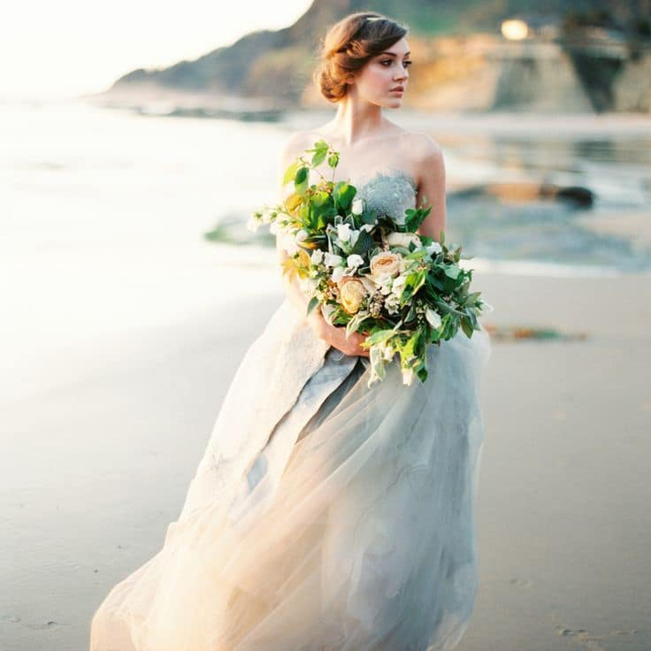 The Perfect Wedding Dress For A Beach Bride