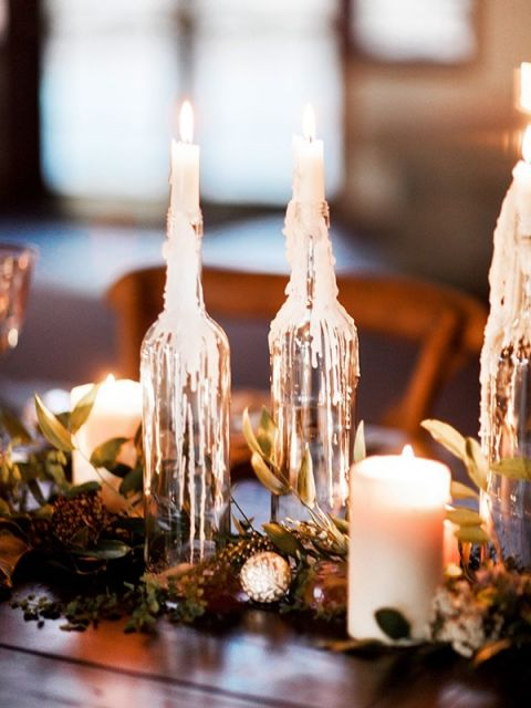 Winter Wedding Ideas 93 Ideal Garland Table Runner of