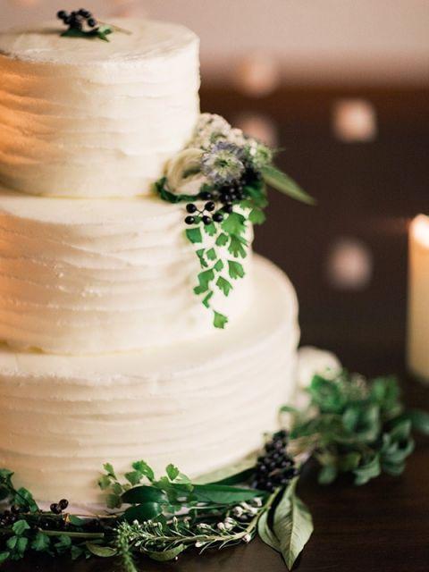 Winter Wedding Ideas 51 Superb Fern and Flower Wedding