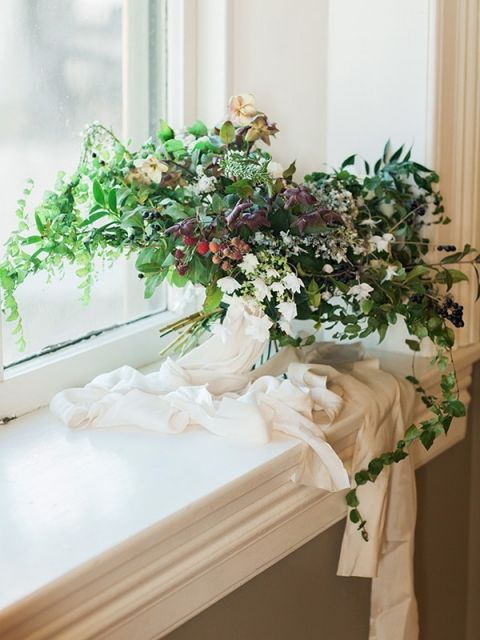 Winter Wedding Ideas 80 Lovely Greenery Botanical Bouquet with