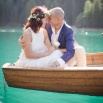 Destination Engagement on a Midsummer Lake | Sandra Aberg Photography