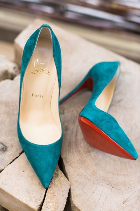 Jewel Toned Wedding Shoes