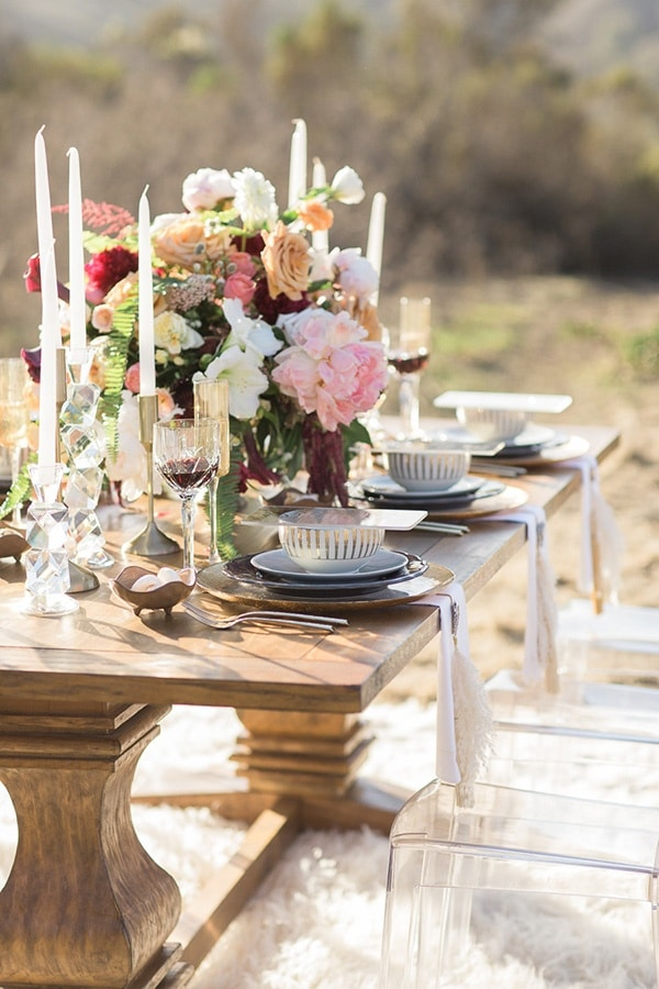 Luxe Bohemian Wedding In Jewel Tones Hey Wedding Lady
