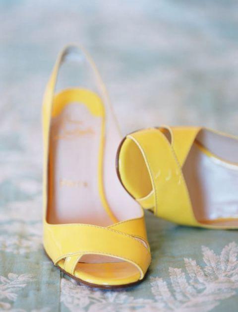 Yellow Wedding Shoes 25 Unique Yellow Louboutin Wedding Shoes