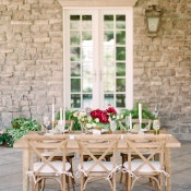Natural Mountain Manor Wedding | Connie Whitlock | Peony and Lace Outdoor Summer Wedding