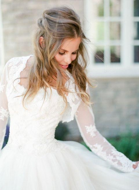 Peony Wedding Dress 43 Trend Long Sleeve Lace Wedding