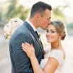Effortlessly Chic Sparkling Neutral Wedding | Danielle Poff Photography