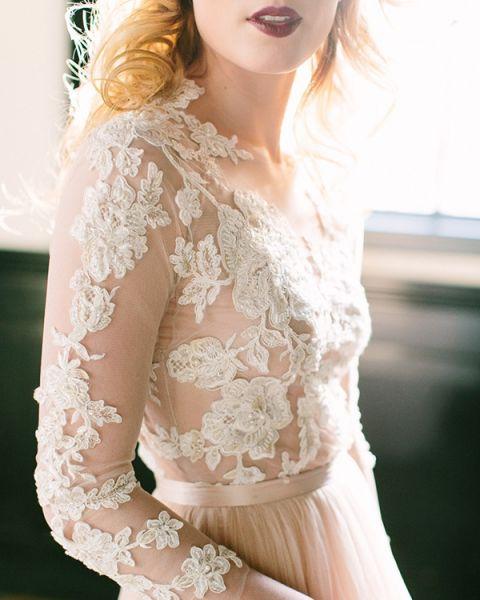 Romantic Vintage Wedding Dresses 90 Luxury Floral Lace Wedding Dress